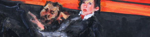 "Detail of the painting, ""One More"""