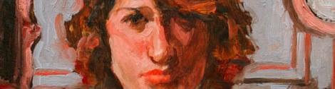Detail of a portrait of Geneva